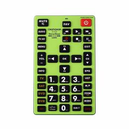 aux remoto Sconti 1PCS Chunghop E450 2AAA Telecomando combinativo imparare telecomando per TV SAT DVD CBL DVB-T AUX universale CE GRANDE