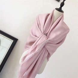 Wholesale korean women fashion suits - Korean new winter Huo Siyan star the same paragraph Europe and the major suit Scarf Shawl cashmere Gold and silver line scarf Ladies