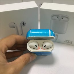Wholesale Headset For Android Phone - Afans I7 I7S TWS I8 I8X I9S Twins Earphone Headphone Stereo TWS Earbuds for IOS Android Phone With Charging Box Wireless Bluetooth Headset
