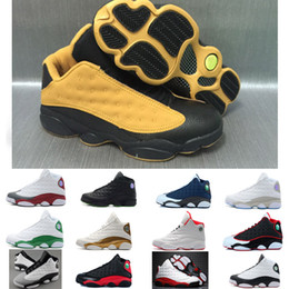 red high shoes Coupons - High Quality 13 Bred Chicago Flints Men Basketball Shoes 13s DMP Grey Toe History Of Flight All Star AIR Sneakers XIII