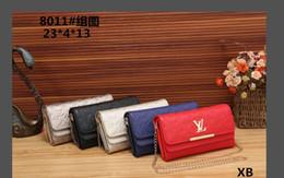 Wholesale big women wallet - Genuine leather wallet high quality famous big designers clutch bag women handbag shoulder messenger bag coin purse