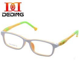 2019 kinder gläser fällen DD Kids Optische Brillen w / Case, Kinder Tr90silicone Safe Flexible Brillengestell Kind Myopie Presbyopie Brillen DD1391 günstig kinder gläser fällen