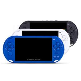 8GB X9 портативная игровая приставка 5-дюймовые экранные консоли поддержка ТВ-выхода с кинокамерой MP4 поддержка аркадных игр GBA GBS от Поставщики киноэкраны