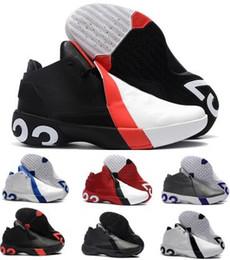 7e0aa9b01ecc ... Chaussures De Basket-ball Sneakers Équipe Hommes Noir 2018 Nouvelle  Arrivée 23 Hombre Sport Baskets Chaussures Taille 7-12 promotion mouche en  nylon