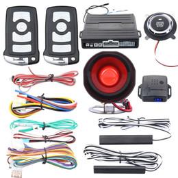bd1715e1 Calidad universal PKE sistema de alarma de coche entrada pasiva sin llave  motor remoto arranque parada empuje motor arranque parada vibración alarma  Ofertas ...