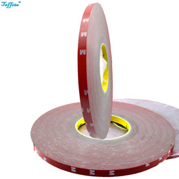 Wholesale foam adhesive glue - 10mm x 30meter 3M Double Sided Tape Acrylic Foam Adhesive Car Interior Exterior Accessories Tape Sticker