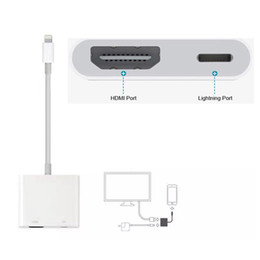Wholesale Projectors For Computers - SZBITC For Lightning to HDMI Digital Adapter For iPhone 6 7 7 Plus 8 iPad for Monitor Projector