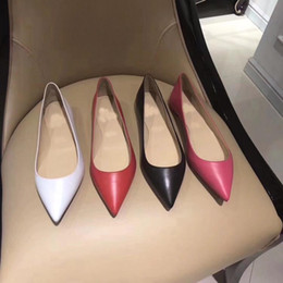 Wholesale Wedges Feathers - 2018 New Tide Four Colors Women's Low Heel Casual Shoes Business Party Luxury Italian Brand Shoes Model Catwalk Professional BOOTS Shoes