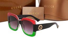 Wholesale Men Sunglasses Leopard - Top Quality New Fashion Sunglasses For Man Woman Erika Eyewear Designer Brand Sun Glasses Matt Leopard Gradient UV400 Lenses Box and Cases