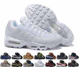 Wholesale Light Running Shoes Free - 2018 Brand New Ultra 20th Anniversary Air 95 OG Retros Men Running Shoes Sports Retros 95s Mens Trainers Tennis Sneakers Free Shipping