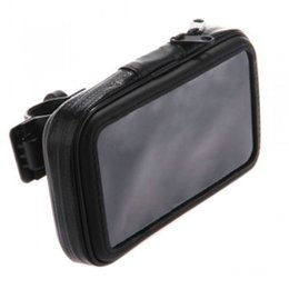 Wholesale Bicycle Bags Frame - Dewtreetali Bicycle Frame Bike Mobile Phone Holder Waterproof Bag Case with Handlebar Bracket Mount Base for iPhone