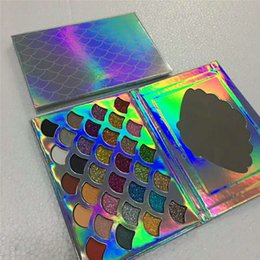 Wholesale Natural Eye Drops - 2018 New stock Cleof Palette 32 colors Fashion Women Beauty Cosmetics The Mermaid Glitter Prism Palette Eye Makeup Eyeshadow drop shipping
