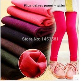 b1ce76fd6 Hot sale autumn pull plush girls leggings girls pants 4-10 year sport  leggings for girls winter leggings