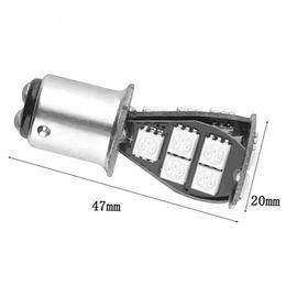 Wholesale led tail light assembly - 1157   BAY15D 5050 SMD LED 12V 5W 18Chips Error Free Brake Tail Car LED Light Bulb