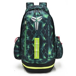 Wholesale Wholesale Backpacks China - KOBE Men Backpacks Sports Basketball Bag School Teenager Backpack Outdoor Travel Knapsack NK Unisex Fashion Casual Mochila