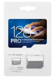 Wholesale Micro Sd Pro - 2018 128 gb pro UHS-I MicroSDXC Micro SD Memory Card 128 GB 128GB 64GB 8GB class 10 microsd TF Card for Cell phone mp3 micro sd C10
