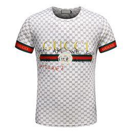 6083599d8208b 2017 Wholesale clothing G   Men s T-Shirts Full screen tiger printing hip  hop clothing mens designer shirts plus size blue Khaki 167