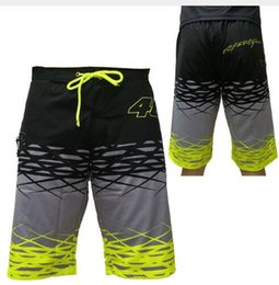 Wholesale H 46 - VR46 MotoGP Boarder Shorts Valentino Rossi The Doctor Vale Fortysix Bermuda VALEYELLOW 46 Short Beachwear H