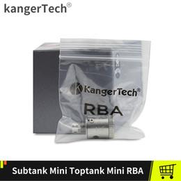 kanger subtank spule für rba Rabatt Kanger Subtank Mini RBA Plus Plattform Basisspule für Kangertech Subtank Mini Plus Zerstäuber Vape Tanks