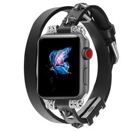 Seta relógios on-line-Relógio Apple com Cinto Iwatch Arrow Cinto Duplo em Metal
