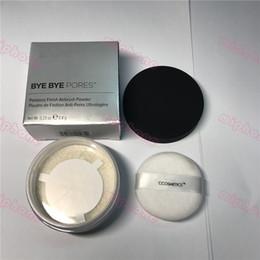 2019 hochwertige make-up-sets Make-up-Marke Kosmetik bye bye PORES poreless Finish Airbrush-Pulver 0,23 Unzen 6,8 g Durchscheinend Lose Einstellung Hohe Qualität 100% Real Photo rabatt hochwertige make-up-sets