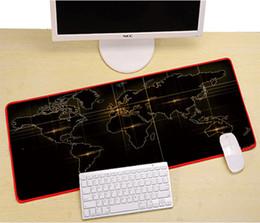 Canada PARASOLANT Clavier Surdimensionné Tapis de souris Tapis de souris Tapis de bureau Grands tapis de souris Tapis de jeu XL pour le travail de bureau / jeux cheap work keyboard Offre