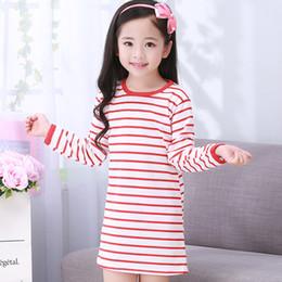 camisola de algodão da princesa Desconto 2018 Floral Meninas Sleepwear Vestido de Algodão de Renda Pijamas Para Meninas Princesa Crianças Fatos de Treino Camisola Roupas Infantis