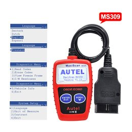 Wholesale Autel Volvo Maxiscan - Autel MaxiScan MS309 CAN BUS OBD2 Code Reader EOBD OBD II Diagnostic Tool Autel MS309 Code Scanner