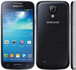 """Сотовые телефоны mini wifi онлайн-Оригинал разблокирован Samsung Galaxy S4 Mini I9195 I9192 сотовый телефон 3G 4.3 """" WIFI GPS 8MP камера S4 мини отремонтированный телефон"""