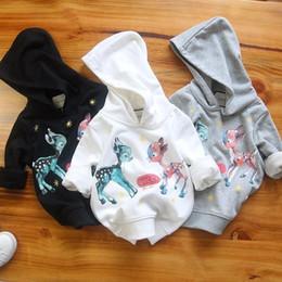 2019 importa dos Suéter nuevo para niños con telas de algodón importadas, tendencia de moda, tela cómoda, dos lindos ciervos en el pecho importa dos baratos