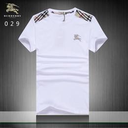 f76f77b21b6de 2019 camisa de importación Patrón de bordado del caballero de la camiseta  de 2018 nuevos hombres
