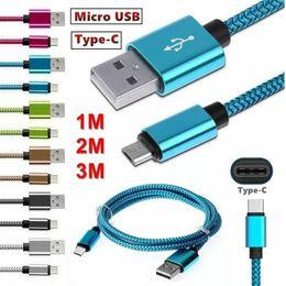 Micro USB Chargeur Câble Type C Haute Qualité 1M 3F 2M 6FT 3M 10FT Câble de synchronisation pour Samsung S8 Note 8 N'importe quel téléphone intelligent OM-U2 ? partir de fabricateur