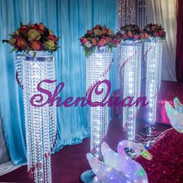Großhandelsbetriebe online-Hochzeits-Gelegenheits-und Metallprodukt-Namenhochzeitsdekoration-Blumenstand, künstliches Großhandelsmittelstück / Betriebsporzellanversorgung