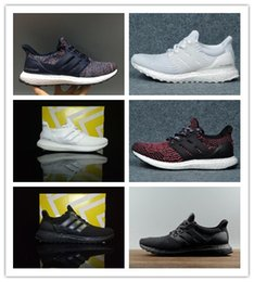 детская обувь из желтого холста Скидка Ultra Boost 4.0 тройной черно - белый Primeknit Oreo CNY синий серый Мужчины Женщины кроссовки Ultra повышает ultraboost спортивные кроссовки