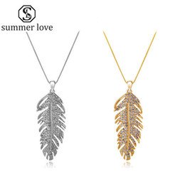 brillano la collana di giorno Sconti Handmade Austria Crystal Love Wings Pendants Collana collegamento Collana Collana Orecchino per le donne Fashion Feather Leaf Shining San Valentino Regali di San Valentino