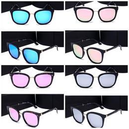 Wholesale Glasses Sunshine - Fashion Large Frame Women Glasses Ultraviolet Proof Polarized Light Sunglasses With Case Protect Eye From Sunshine Hot Sale 38tc Z