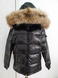 4f2f405359c4 M Brand Men down jacket thickening Men down parkas 100% real raccoon fur  collar hood down coat