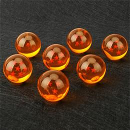 Argentina Animación caliente DragonBall 7 Estrellas Crystal Ball 7.6cm Solo conjunto Nuevo En Caja Dragon Ball Z Juego completo de juguetes DHL 50pcs cheap new hot toys Suministro