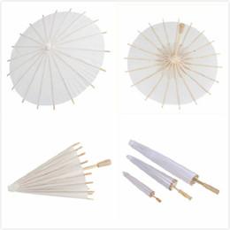 5f8b514ca bridal umbrellas for wedding Promo Codes - 60pcs bridal wedding parasols  White paper umbrellas Chinese mini