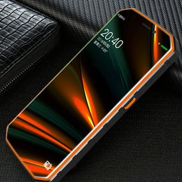2019 smartphone en acier inoxydable Magazzino Land rover XP9800 6500 mah 5.5 pouces HD IP68 Imperméable MTK6739 Quad Core Android 8.1 2 Go de RAM 16 Go de ROM GPS Del Telefon
