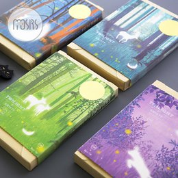Wholesale Notebook Products - HOT Blank Sketchbook Drawing graffiti Sketch Book Cute Diary School Notebook paper 104 sheets Stationary Products Supplies gift
