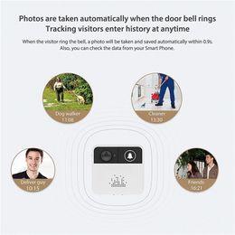 2019 cámaras de seguridad en casa iphone 32GB 720P HD Smart Wireless Video Timbre WiFi Cámara de seguridad para el hogar Timbre de la puerta Timbre en tiempo real Video bidireccional de conversación para iPhone Teléfono Android cámaras de seguridad en casa iphone baratos