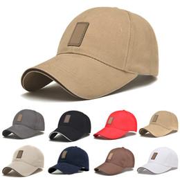 Повседневная корейская шапка онлайн-Simple Fashion Korean Outdoor Sports Men Baseball Cap Snapback Hat Adjustable Summer Autumn Man Casual Caps New