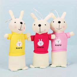 Милый мультфильм Kawaii плюшевые пенал творческий прекрасный Кролик ручка сумка для детей подарок школьные принадлежности корейский стиль ручка сумка карандаш коробка от