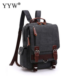 4a31c9df7b YYW Preppy Style Contrast School Backpack Bag For College Simple Design Men  Casual Daypacks Male New Soft Backpacks
