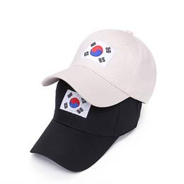 Wholesale Korea Snapback - VORON Hot Sale Summer New Hip Hop Cap Korea Ulzzang Harajuku Flag Embroidery Snapback Hat For Men Women Baseball Caps