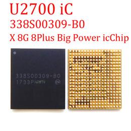 2019 iphone bezel sticker 5pcs / lot original nouvelle grande puissance IC puce U2700 iC pour iPhone X 8 8G 8 Plus 8Plus puissance principale IC338S00309 338S00309-B0 gestion de la gestion PMIC IC