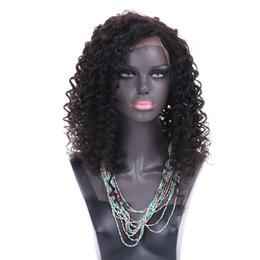 Canada Perruques de cheveux humains Lace Front brésilien Malaysian Indian cheveux bouclés Full Lace Perruque Remy Vierge Cheveux Lace Front Perruques Pour Les Femmes Noires cheap indian remy lace Offre