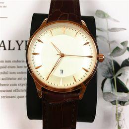 Wholesale Gentleman Watches - Classic Watches Women Men watch Ultra Thin Rose Male Wristwatch Female Clock Free box Gentleman watches Relogio Masculine Wholesale price