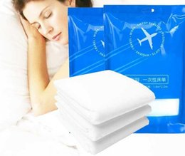 Wholesale Mattress Comforters - 120cmX200cm Healthy Non-woven Disposable Bed Sheet for Beauty Salon or Patient Bed Mattress Pad Waterproof Oil Proof Free Shipping wn336